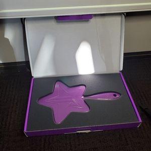 Jeffree Star Purple Glitter Star Mirror